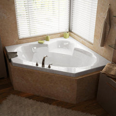 Atlantis Whirlpools Sublime 60 x 60 Corner Soaking Bathtub 6060S
