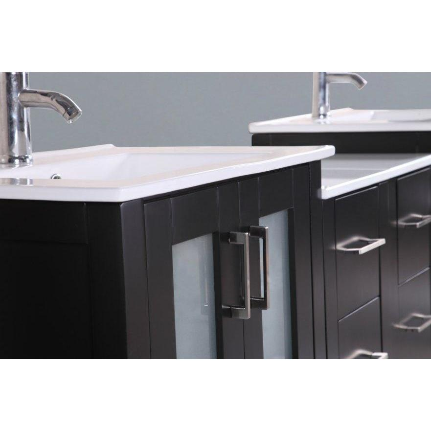 "Bosconi 96"" Double Vanity Bathroom Vanity AB230U3S"