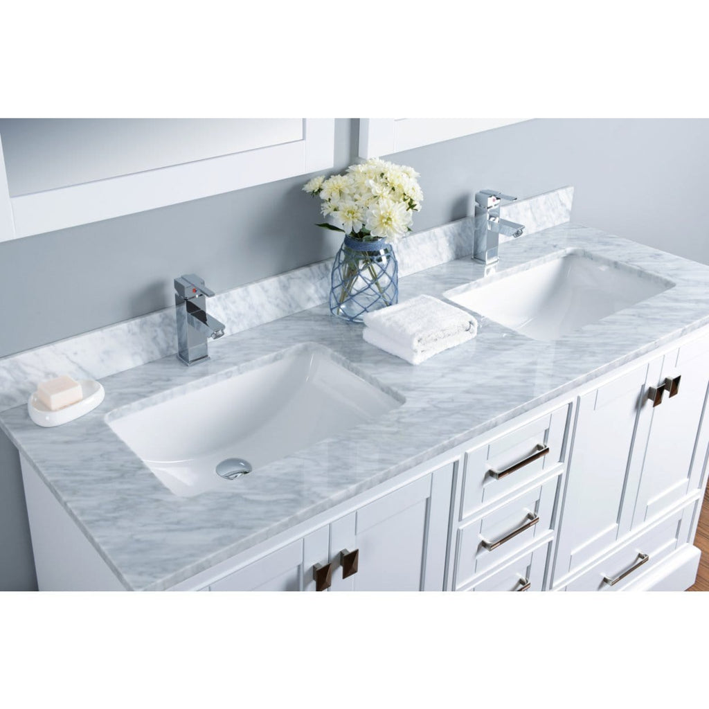 "Bosconi 60"" Double Vanity Bathroom Vanity KWH1060CMU"