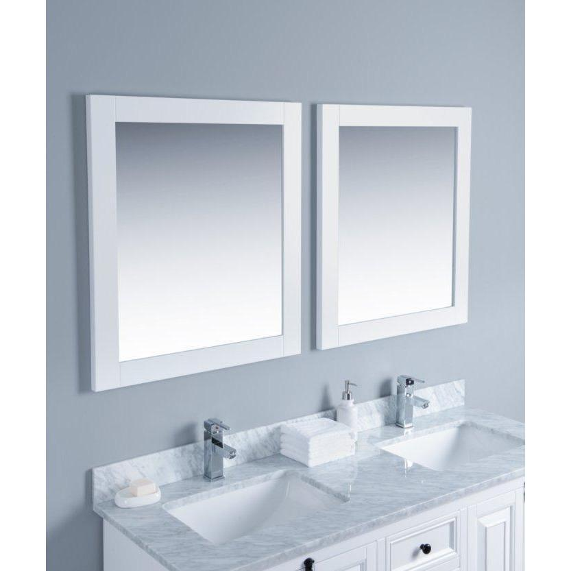 "Bosconi 60"" Double Vanity Bathroom Vanity KWH4060CMU"