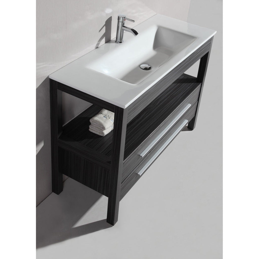 "Bosconi 48"" Contemporary Single Vanity  Bathroom Vanity A-5243"