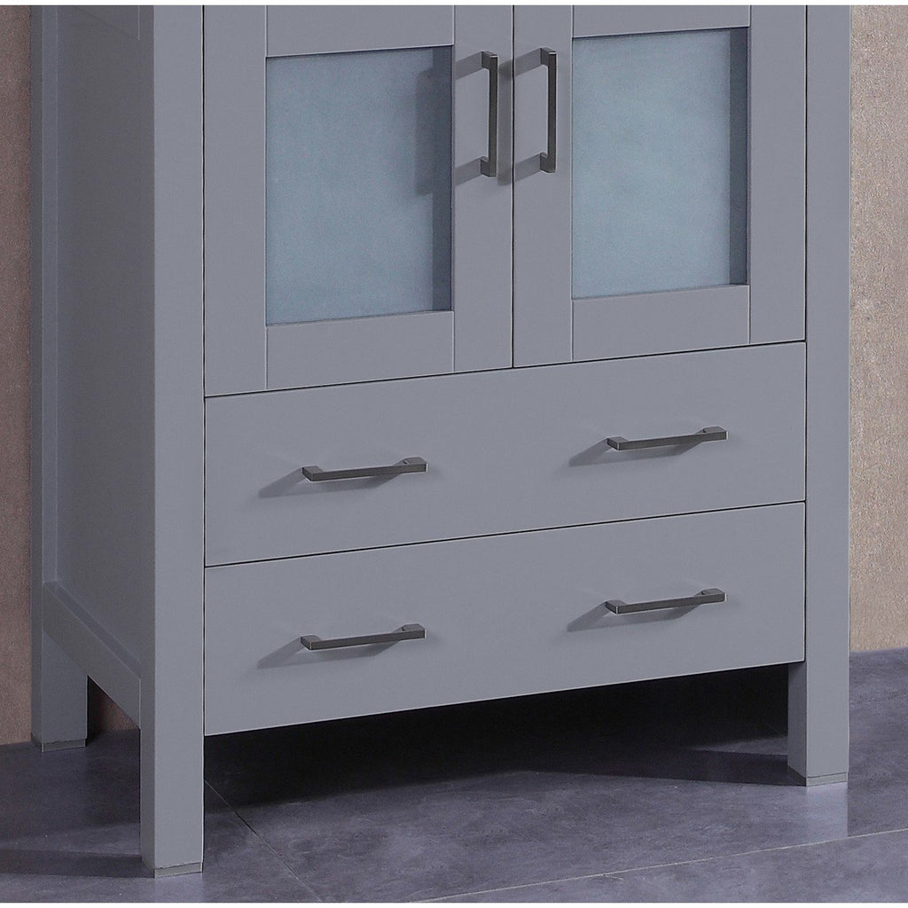 "Bosconi 30"" Bathroom Single Vanity Cabinet A-GR-30MC"
