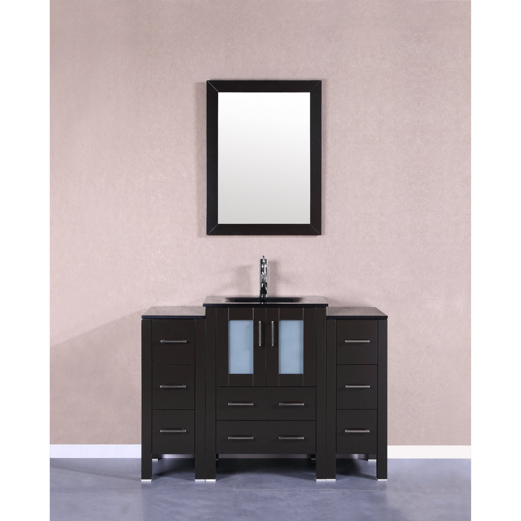"Bosconi 48"" Single Vanity Bathroom Vanity AB124BGU2S"