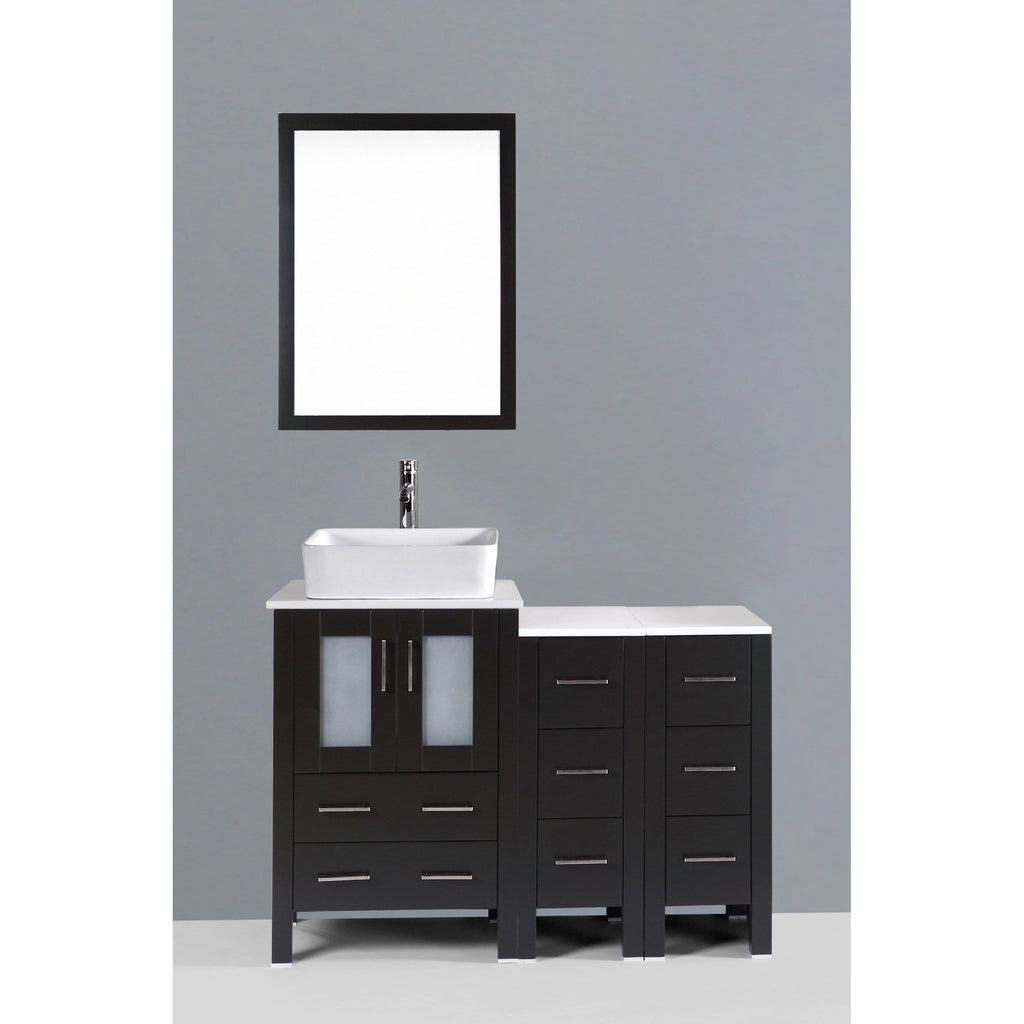 "Bosconi 48"" Single Vanity Bathroom Vanitie AB124RC2S"