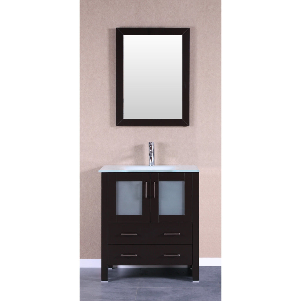 "Bosconi 30"" Single Vanity Bathroom Vanity AB130EWGU"
