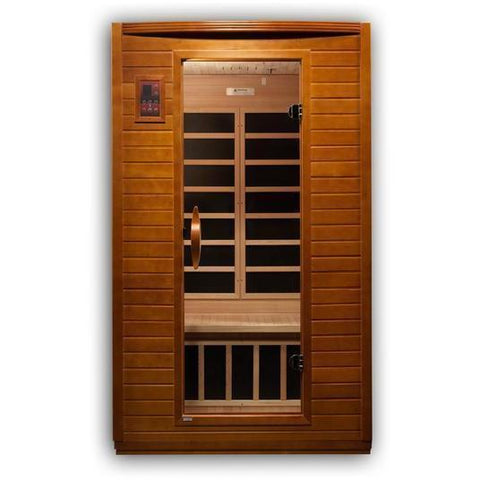 Golden Designs Infrared Saunas Golden Designs Dynamic Andora 2-Person Low EMF FAR Infrared Sauna