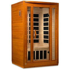 Golden Designs Dynamic San Marino 2-Person Low EMF FAR Infrared Sauna DYN-6206-01