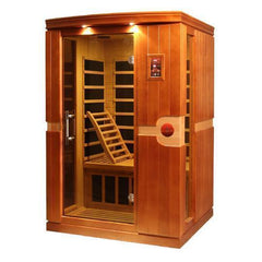 Golden Designs Dynamic Venice 2-Person Low EMF FAR Infrared Sauna DYN-6210-01