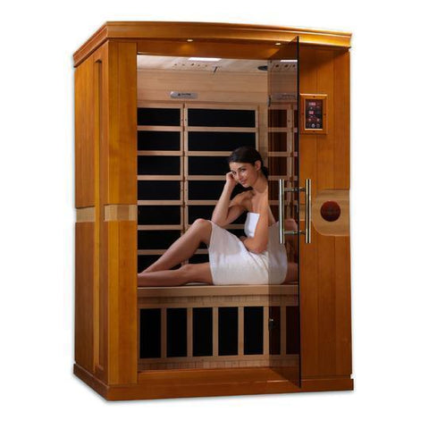 Golden Designs Infrared Saunas Golden Designs Dynamic Venice 2-Person Low EMF FAR Infrared Sauna
