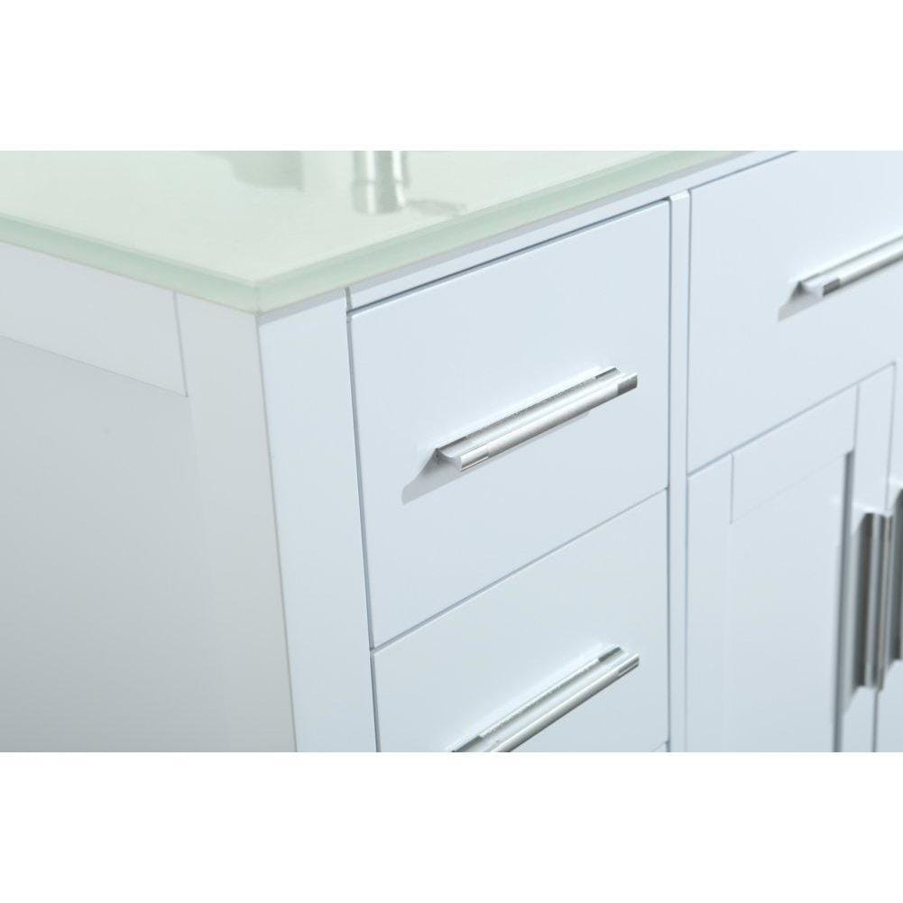 Bosconi 43'' Contemporary Single Bathroom Vanity SB-252-7WHEWG