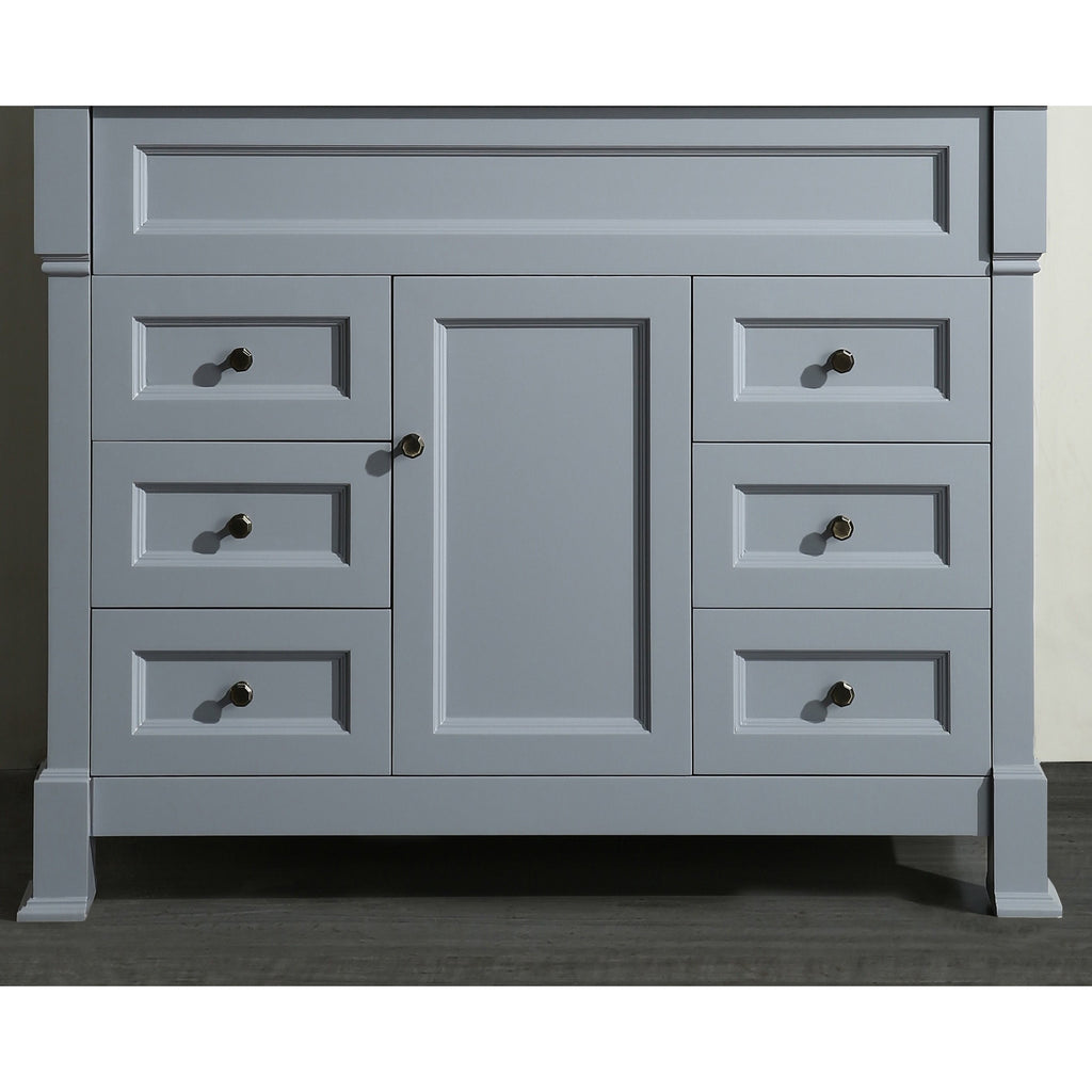 "Bosconi 43"" Bathroom Main Vanity Cabinet SB-278GRMC"