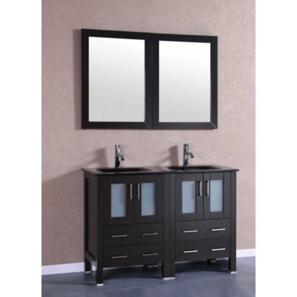 "Bosconi 48"" Double Vanity Bathroom Vanity AB224BGU"