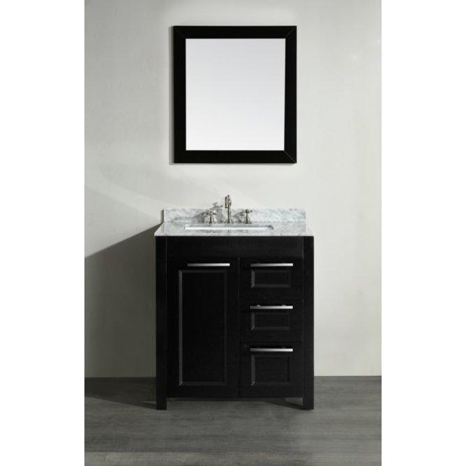 Bosconi 30'' Single Bathroom Vanity SB-267-1BCM