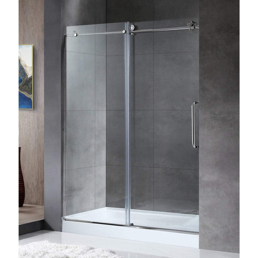 ANZZI Madam Series Shower Door in Polished Chrome SD-AZ13-02CH