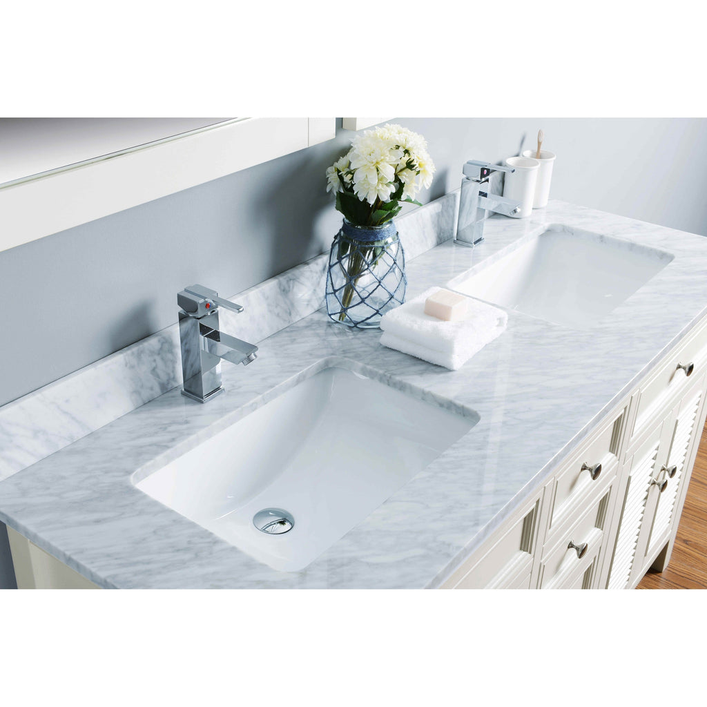 "Bosconi 60"" Double Vanity Bathroom Vanity KIV3060CMU"