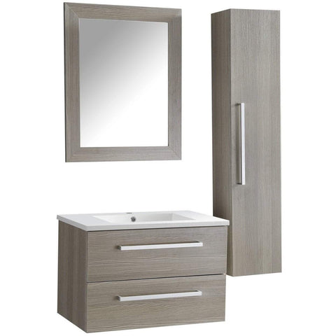 ANZZI Conques 30 in. W x 20 in. H Bath Vanity in Rich Gray V-CQA033-30