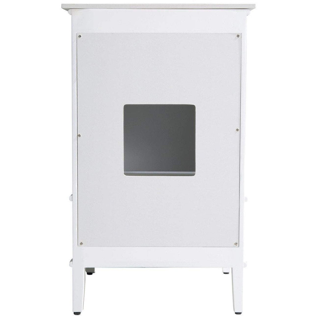 ANZZI Alexander Bath Vanity in Rich White V-AXG021-21