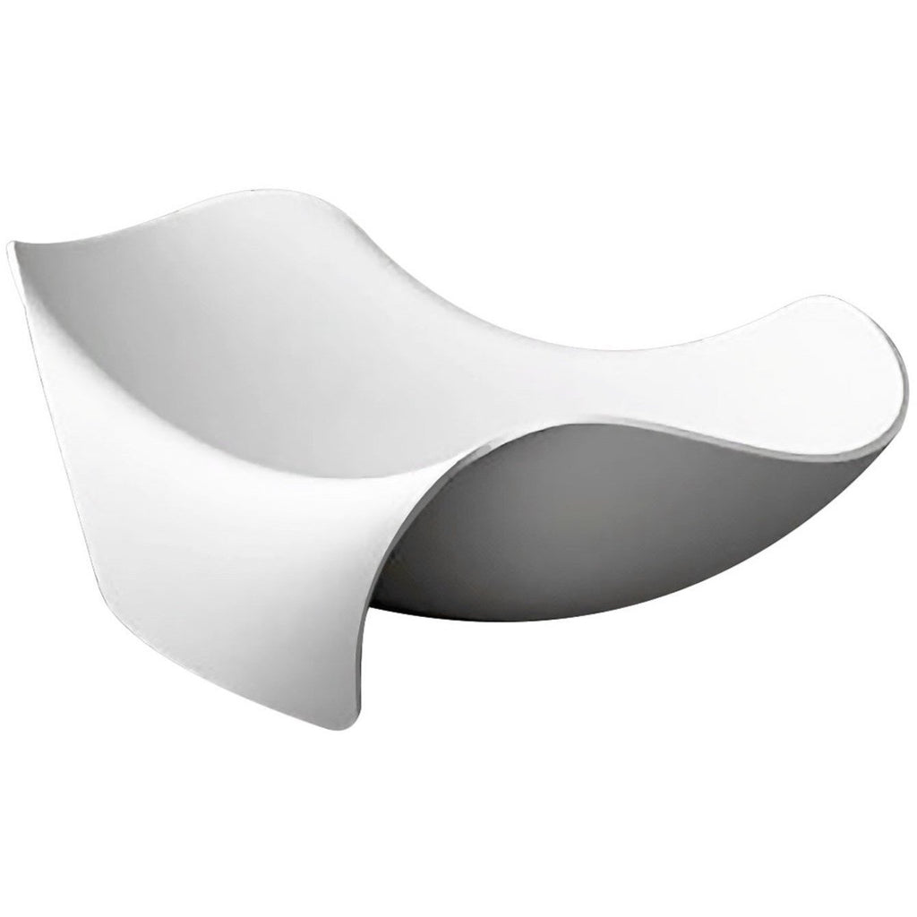 ANZZI Cielo Freestanding Bathtub in Matte White FT-AZ512