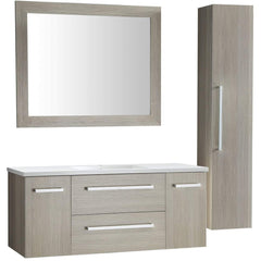 ANZZI Conques 48 in. W x 20 in. H Bath Vanity in Rich Gray V-CQA033-48