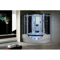 Maya Bath Valencia Computerized Steam Shower 106 - White