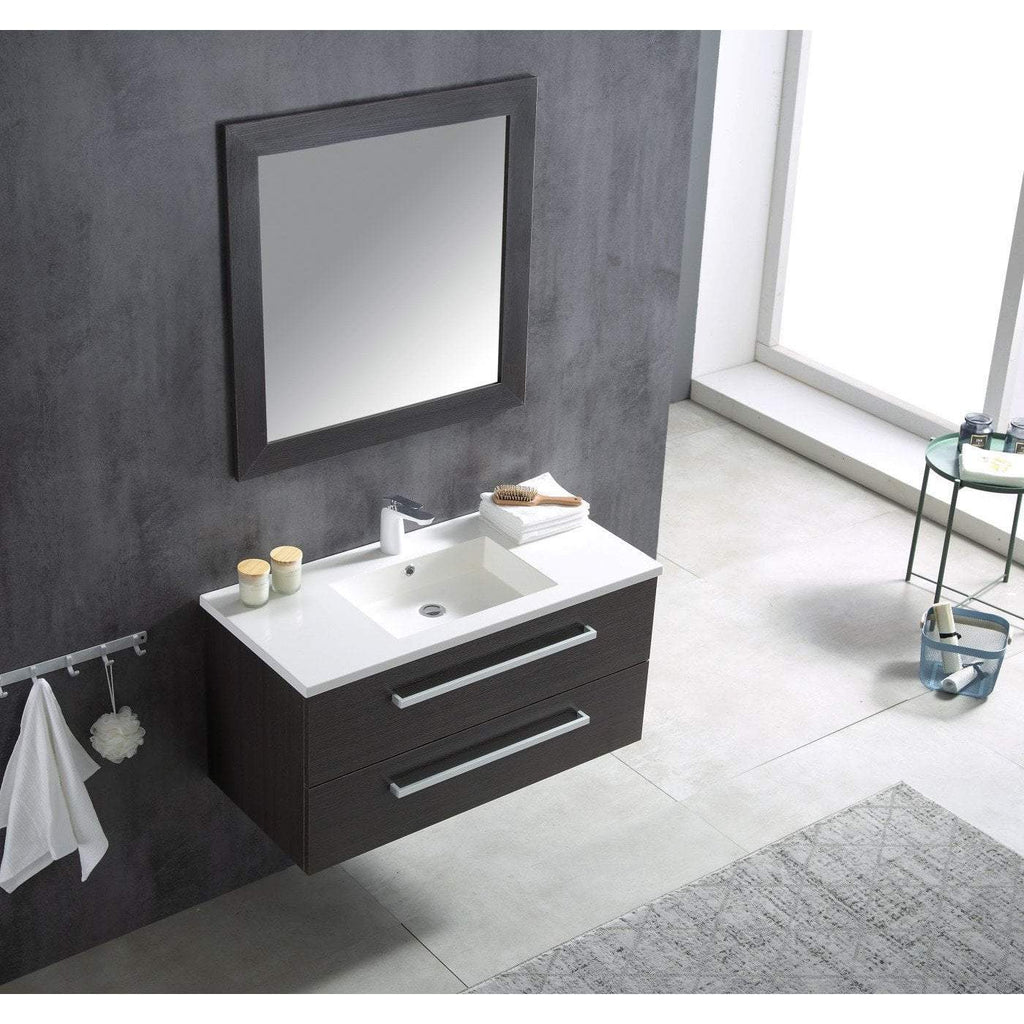 ANZZI Conques 39 in. W x 20 in. H Bath Vanity in Rich Umber V-CQC006-39