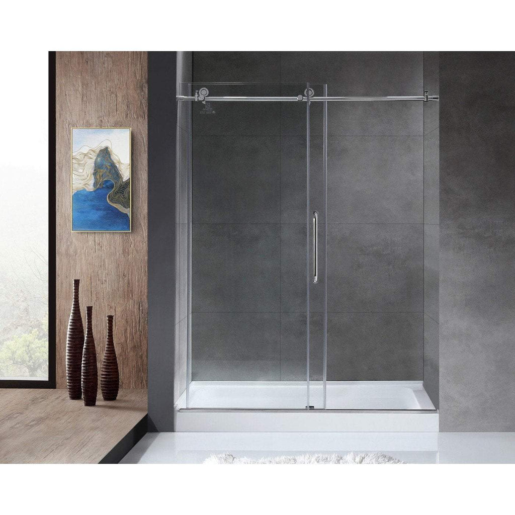 ANZZI Madam Series  Shower Door in Polished Chrome SD-AZ13-01CH