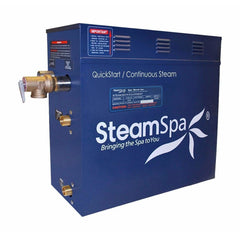 SteamSpa QuickStart Indulgence 6 KW Acu-Steam Bath Generator INT600BN