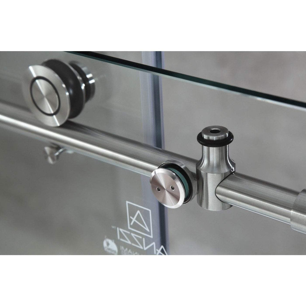 ANZZI Madam Series Shower Door in Brushed Nickel SD-AZ13-01BN