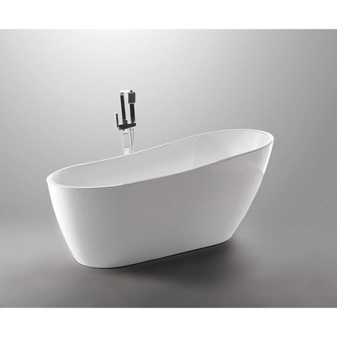 ANZZI Trend Series Freestanding Bathtub in White FT-AZ093