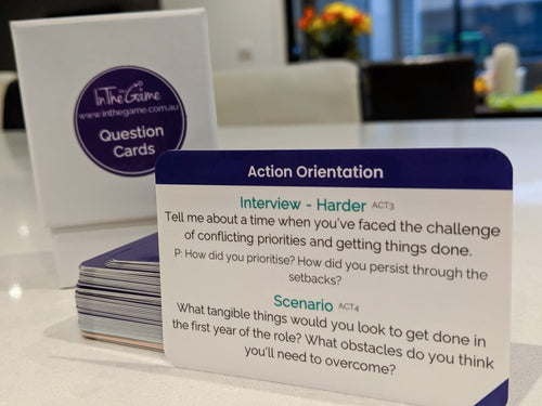 Interview Questions Cards
