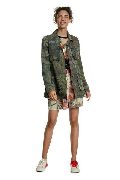 Verde Camoflower Jacket