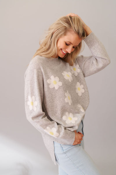 Crazy Daisy Sweater