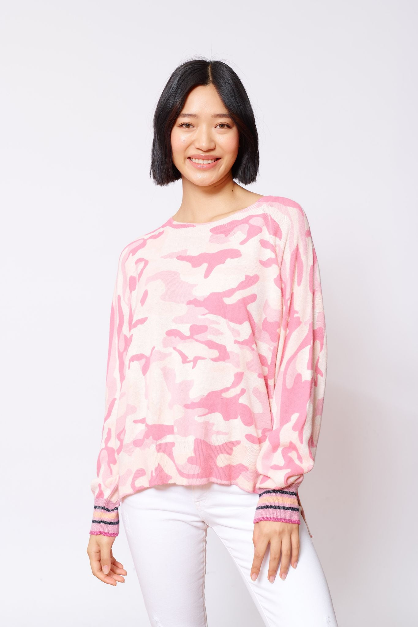 Cadet Sweater - Pink