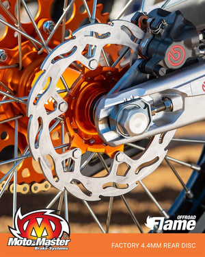 Moto-Master Flame Factory 4.4mm bakskiva