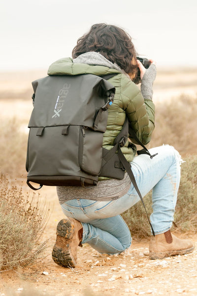 Carrying your gear in challenging weather is now more comfortable than ever!