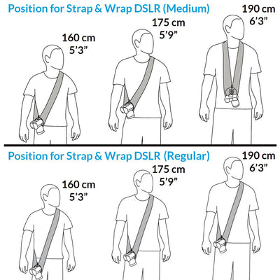How to choose the strap that fit your height