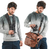 Comfortably carry your Mirrorless (CSC) camera around your neck.Or put it in your bag