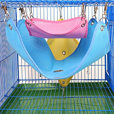 Cloth Portable / Squirrel Beds / Mouse Toy Yellow / Blue / Pink