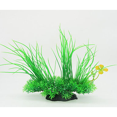 Aquarium Decoration Waterplant Waterproof / Portable / Decoration Plastic