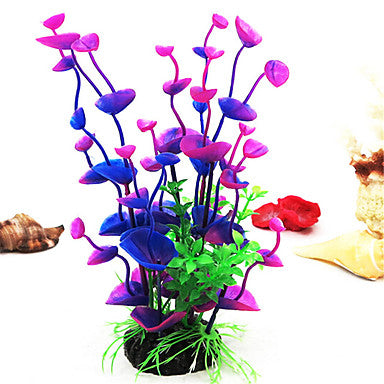Aquarium Decoration Waterplant Artificial Plastic