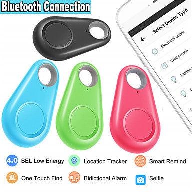 Kids Cat Pets GPS Collar / GPS tracker Wallet Key Finder Mini GPS Bluetooth Smart Solid Colored Plastic Green Blue Pink