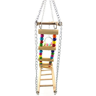 Bird Perches & Ladders Wood Pet Friendly / Bird 23 cm