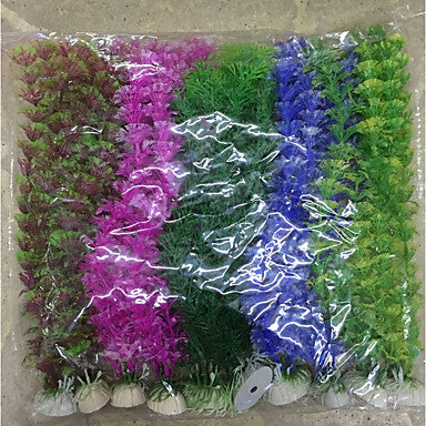 Aquarium Decoration Waterplant Plastic