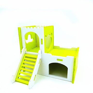 Rodents / Chinchillas / Hamster Wood Hutches Green / Blue / Pink