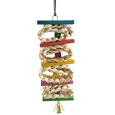 Bird Perches & Ladders Wood Pet Friendly / Focus Toy / Felt / Fabric Toys 7 cm