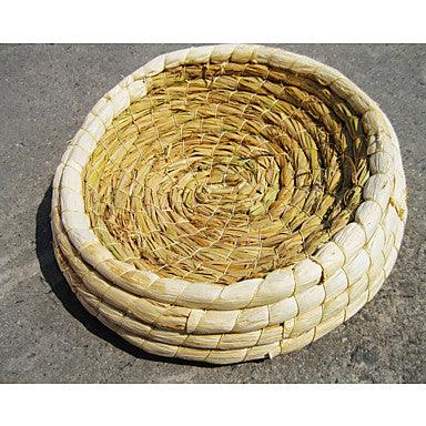 Rodents / Rabbits / Chinchillas Straw Portable Beds