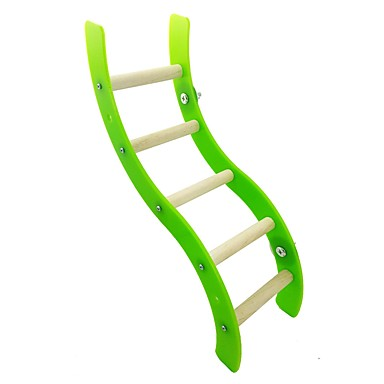 Bird Perches & Ladders Wood Pet Friendly / Focus Toy / Felt / Fabric Toys 36.5 cm