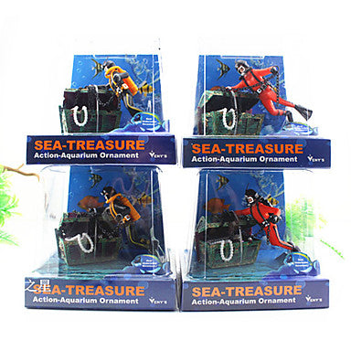 Aquarium Decoration Ornament Artificial Resin