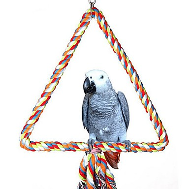 Bird Perches & Ladders Metal Pet Friendly / Focus Toy / Felt / Fabric Toys 32 cm