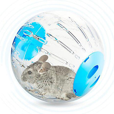 Rodents / Chinchillas / Hamster Plastic Exercise Wheels Blue / Pink